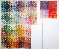 quilts made with triangles | Exuberant Color | Page 2