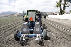 Robots to revolutionize US farms, ease labor woes  Researchers are now designing robots for the last frontier of agricultural mechanization—fruits and vegetables destined for the U.S. fresh market, which have resisted mechanization because they're sensitive to bruising.