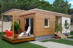 Prefabricated mobile cottages to spend less
