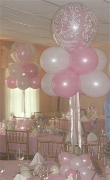 Sweet 16 balloons on pinterest balloon centerpieces for Balloon decoration ideas for sweet 16