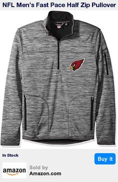 Officially licensed NFL product * Polyester jersey bonded to textured Micro fleece * Primary team logo twill applique at left chest and team work mark is embroidered on left sleeve pocket * Heather grey body with color accents at zippers and inside fleece * Fitted silhouette