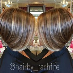 57 Trendy Short Hair Cuts for Women 2019 Short bob haircut with subtle balayage highlights. hair by Rachel Fife @ SF Salon Balayage Highlights, Balayage Hair, Subtle Balayage, Highlights 2017, Pixie Highlights, Purple Highlights, Balayage Brunette, Short Hair Cuts For Women, Short Hair Styles