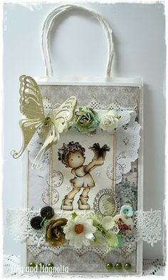 MDUC #214 Janne Choose~ Shabby Paper Bag - Ying and Magnolia