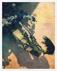 Repost recolor #steampunkfashion  #steampunk #cyberpunk #digitalart #digital #sculpt