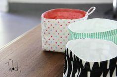 Le tuto du panier en tissu { DiY pour le weekend } - Woch made in Gwada