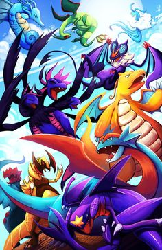 Dragon Pokémon, that's where it's at. :) With the new Fairy type though, it'll make it harder for me to destroy the competition, though. :/