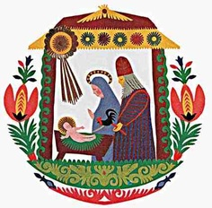 Polish Christmas folk art. Repinned by www.mygrowingtraditions.com