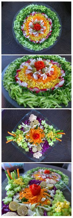 Salad Designing Idea | FanPhobia - Celebrities Database