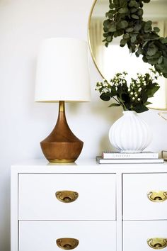 Ginny's Christmas Bedroom Lamp from rejuvenation