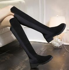 $22.58 (Buy here: https://alitems.com/g/1e8d114494ebda23ff8b16525dc3e8/?i=5&ulp=https%3A%2F%2Fwww.aliexpress.com%2Fitem%2F2016-new-Spring-Autumn-women-casual-shoes-princess-sweet-women-boot-fashion-The-knee-boots-women%2F32719138806.html ) 2016 new Spring Autumn women Flat boots princess sweet women boots fashion knee boots women shoes free shipping L008 for just $22.58