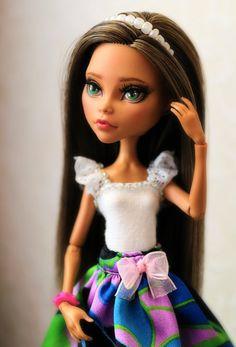 OOAK - Monster High - Cleo de Nile by kroll4ik on DeviantArt