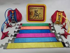 Colores utilizados en los reversos de nuestra colección.