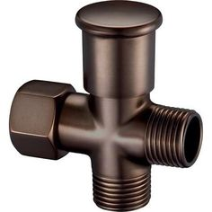 Danze D481350RB Oil Rubbed Bronze Push Pull Shower Arm Diverter