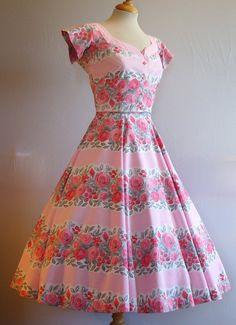 Stunning Vintage 1950s HORROCKSES FASHION by RainbowValleyVintage, £175.00