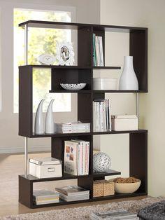 Kessler Tall Modern Bookshelf from Get Zen: Furniture on Gilt