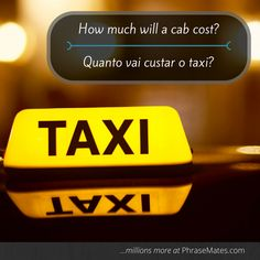 Are you rushing to catch your plane? ✈ Take a taxi and check the price in advance with this useful phrase!