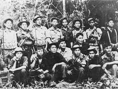 Viet Minh Regulars, Indochine war.