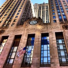 Chicago Board of Trade, Chicago, Illinois by wozzingwithwoz