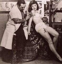 vintage tattoo actio