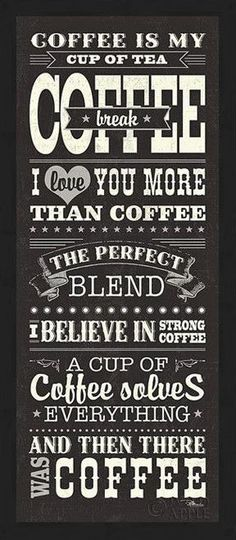 Coffee Break Framed Giclee Print