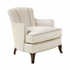 Baker Furniture : Scallop Chair - 874-30 : Barbara Barry : Browse Products