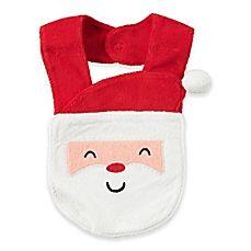 image of carter's® Santa Face Bib