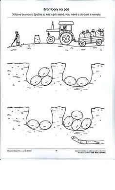 Pracovní listy - Rosničanda - MŠ Pardubice-Rosice/L Diy And Crafts, Crafts For Kids, Homemade Toothpaste, Games For Kids, Worksheets, Coloring Pages, Kindergarten, Children, School
