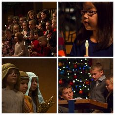 Thank you to Sunday School youth for sharing the Christmas message!
