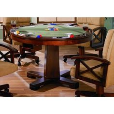 Custom Made 3in1 Combination Flat Top/poker/ Bumper Pool Table YAY!!!! No  Claw Foot Base...more Contemporary Looking | Pinterest | Game Tables,  Bumper Pool ...