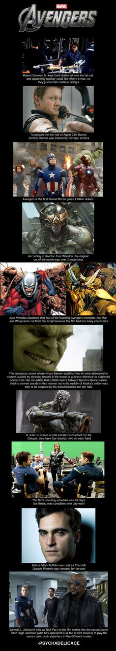 Avengers Movie Facts http://geekxgirls.com/article.php?ID=2698