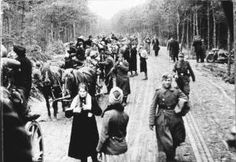 The German evacuation from East Prussia was delayed until the last minute. Plans to evacuate people from the territories controlled by Nazi Germany were carried out  only when the defeat was inevitable, resulting in utter chaos. The evacuation in most of the Nazi-occupied areas began in January 1945, as the Red Army rapidly advanced westward. Estimates are that up to 6 million Germans may have fled or were evacuated from the area with around 86,860 deaths as a result.