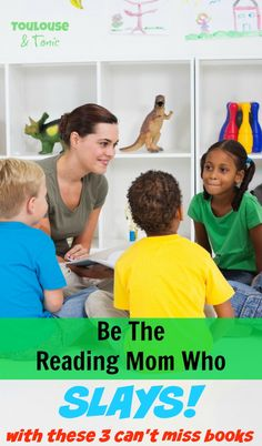Be the reading mom w