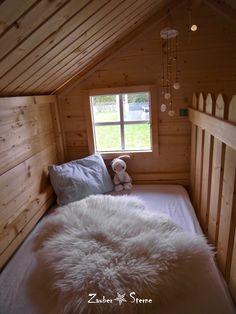 spielhaus garten Cuddly and cozy set up