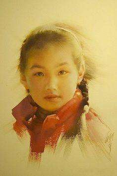 Liu Yi artist watercolor