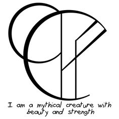 """wickedkhaleesi said: Could you make a sigil for """"I am a mythical creature with beauty and strength beyond measure"""" and """"No one can harm my spirit without my permission"""" ? :) Answer: """"I am a mythical..."""
