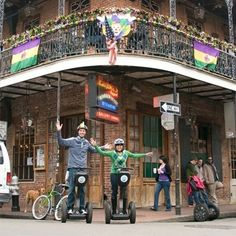 New Orleans Evening Segway Tour