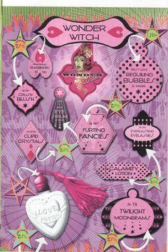 Poster Make-up artikelen Tovenaar