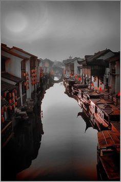 "Saatchi Online Artist Anthony Silver; Photography, ""Suzho Evening"" #art"