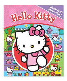 Loving this Little My First Look & Find: Hello Kitty on #zulily! #zulilyfinds  Only $4.99