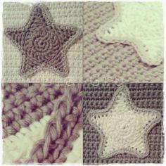 Crochet Potholder - Tutorial ❥ 4U // hf