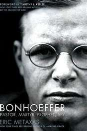 Dietrich Bonhoeffer.... loved the spiritual and historical perspectives