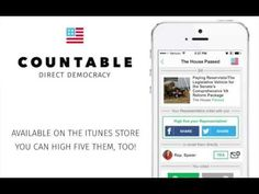 High Five Your Congressperson - Get the Countable iOS App - YouTube