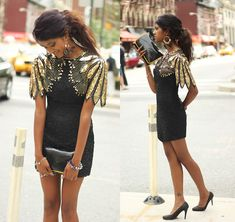 That's a total of 47 Honks! ;) NYFW  (by Menaka Iyer) http://lookbook.nu/look/3982160-That-s-a-total-of-47-Honks-NYFW