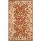 Anatolia Tan/Ivory 3 ft. x 5 ft. Area Rug