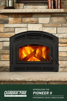 The Pioneer Ii Is An Energy Efficient Heating House This High Performance Fireplace