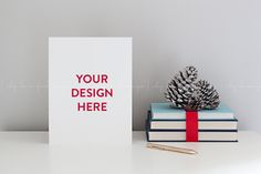 Christmas Stationery Page Mockup by White Turquoise Co. on @creativemarket