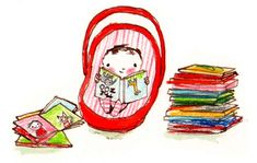 Rebecca Cobb .....babies should have lots of books!  :)