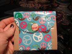 Duct tape change purse