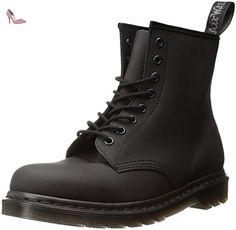 f3a81182a16f DR MARTENS - Boots - Homme - Boots 1460 Kevlar Doublée Cuir Noir pour homme  -
