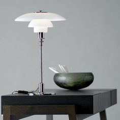 PH 3/2 Table Chrome by Poul Henningsen